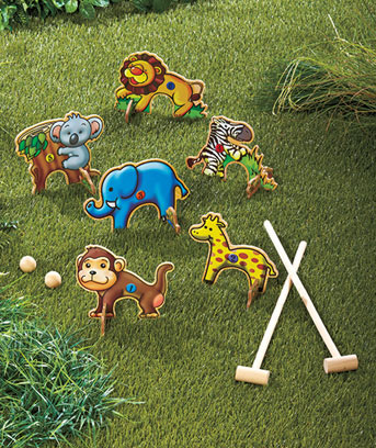 Croquet Game : Published March 15, 2013 at 343 ? 408 in Croquet-Animal-Game-Set