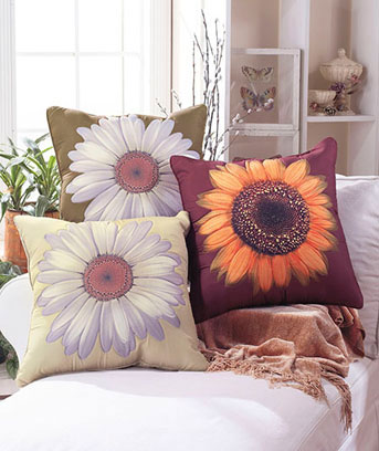 Floral-Pillows
