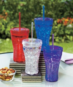 Plastic Straw Travel Tumblers