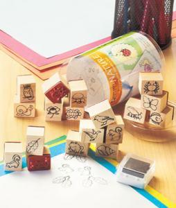 Wood-block-stamps