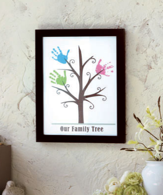 Framed-handprint-wall-art