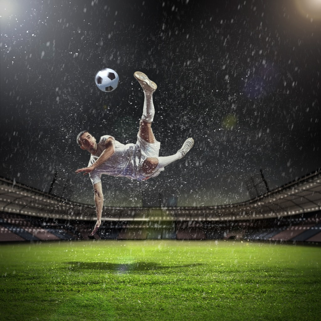 Soccer-in-the-rain