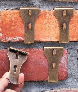 Brick-or-siding-clips