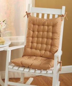 Rocking Chair Cushion Set is a cozy touch for your favorite seat.