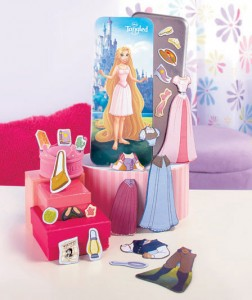She can create her own fairytales with Disney Magnetic Paper Dolls.