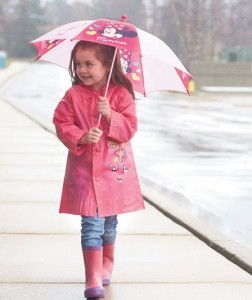 They will make a splash while staying dry in cute Kids' Disney Rain Gear.