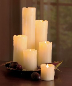 Trade your real candles for this Set of 6 LED Candles for the safety of your children or pets.