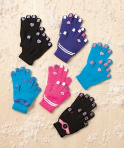 6-Pair Kids' Glove Set lets them choose the pair they want to wear.