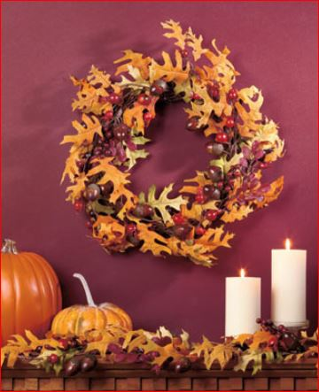 leaf-wreath