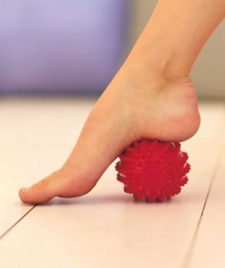 Use this set of 3 Plantar Fasciitis Massage Balls to help relieve pain and soothe aching feet.