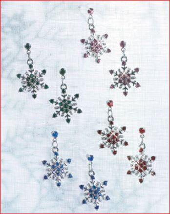 snowflake-earrings