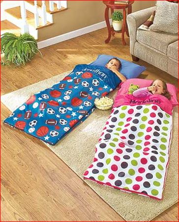 Personalized-sleeping-bag