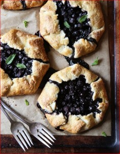 blueberry-gallettes