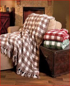 gingham-knit-throws