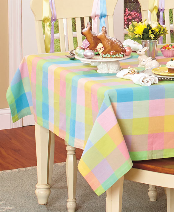 spring-table-cloth