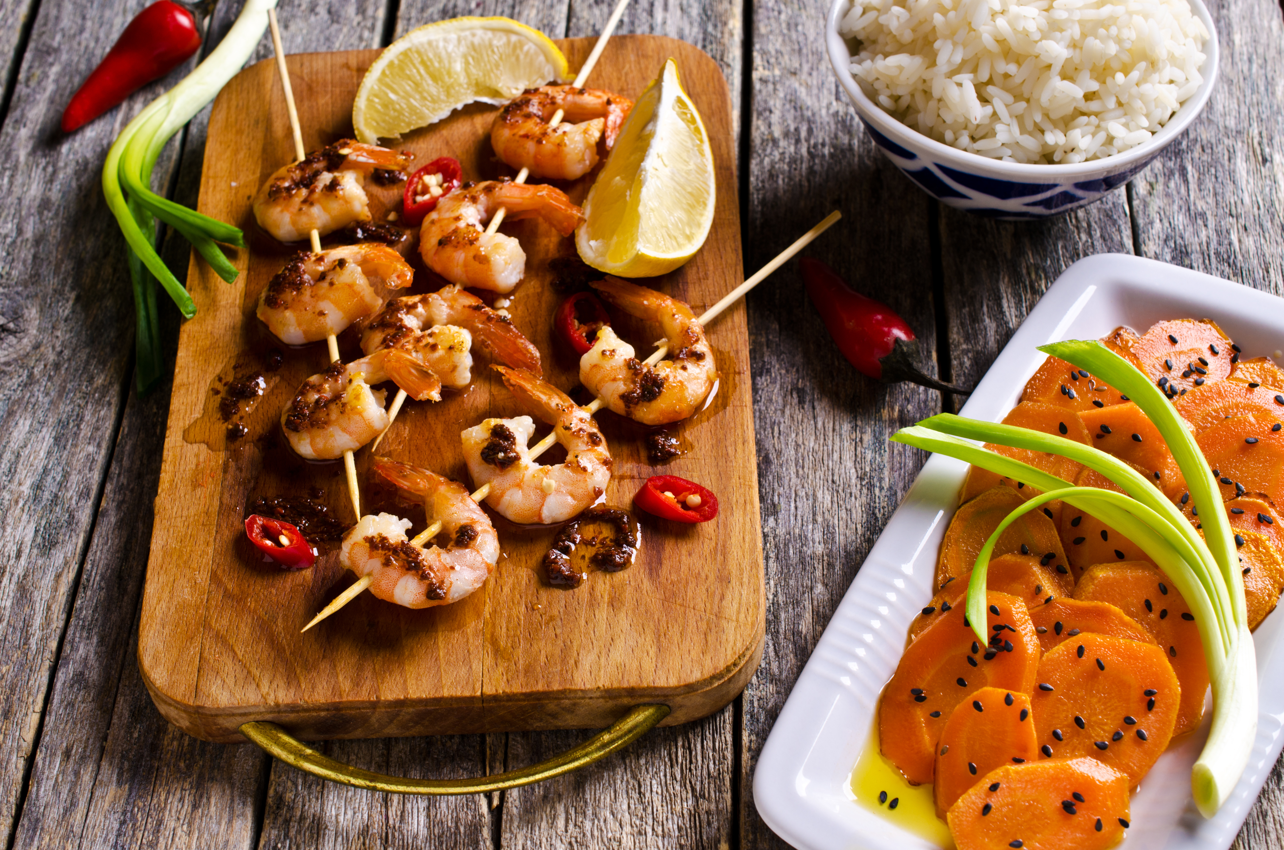 cooked-shrimp-skewer