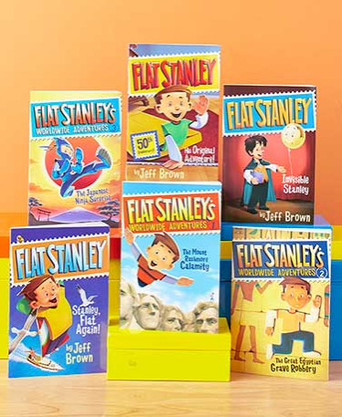 amelia-bedelia-or-flat-stanley-chapter-book-set