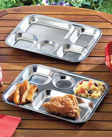 sets-of-2-divided-stainless-steel-plates