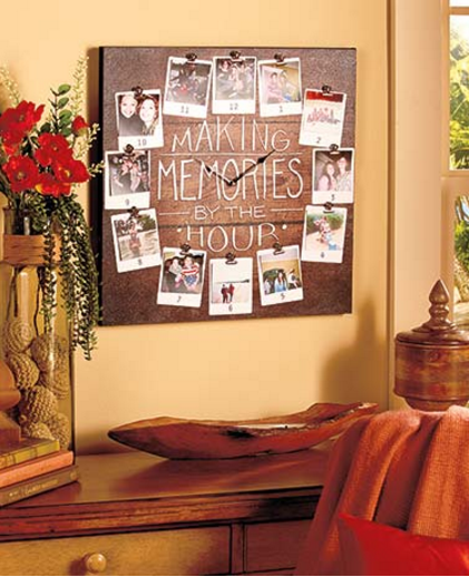 making-memories-photo-wall-clock