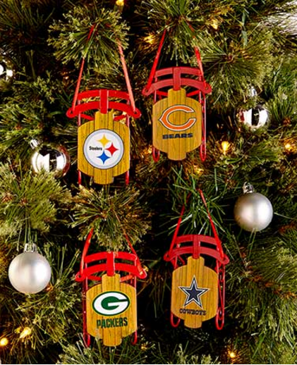NFL-sled-ornaments