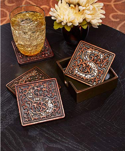 5-piece-mosaic-monogram-coaster-sets