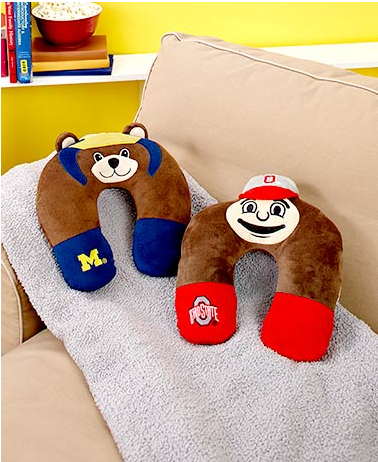 collegiate-mascot-neck-pillows