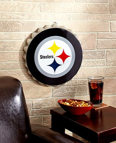 NFL Bottle Cap Wall Hangings