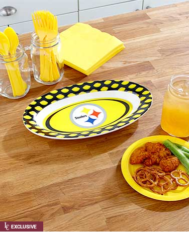 NFL Ceramic Gameday Platters