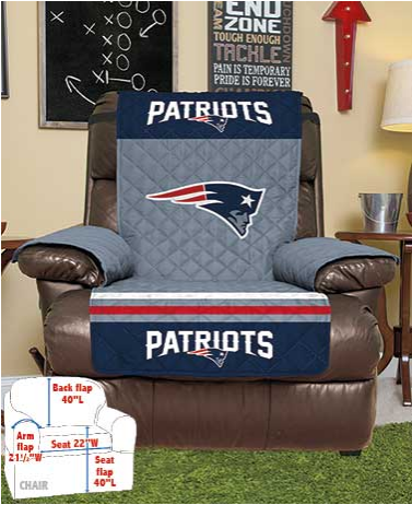 NFL Chair or Recliner Covers