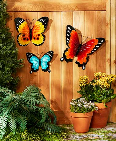 Spring Metal Wall Decor