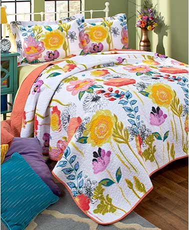 Spring Themed Quilts or Shams