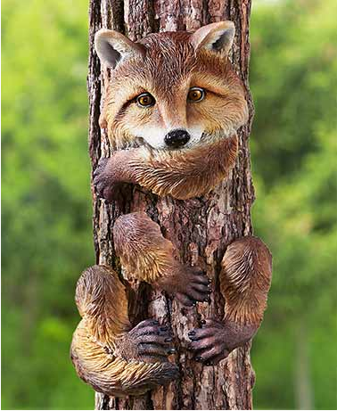 Garden Decor - Animal Tree Huggers