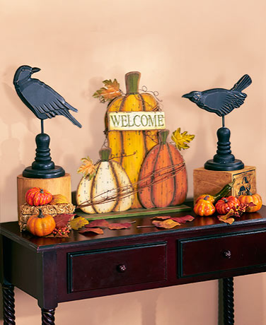 harvest decor medley pumpkin decorations - Pumpkin Decor