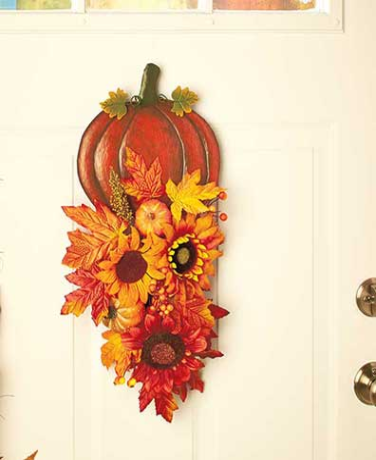 harvest-pumpkin-seasonal-swag-pumpkin-decorations