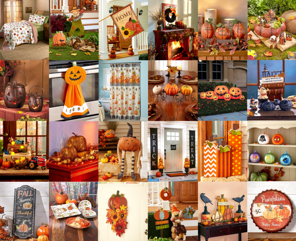 LTD Pumpkin Fall Decorating Ideas 2017
