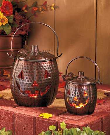 set-of-2-metal-pumpkin-lanterns-pumpkin-decorations