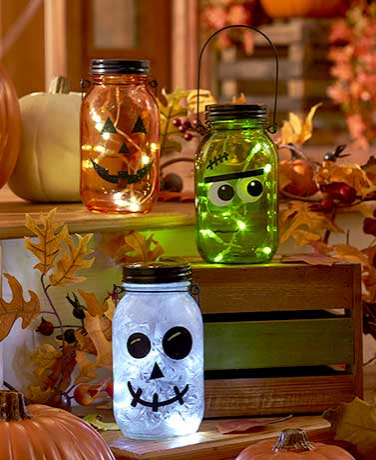 twinkling-mason-jar-halloween-lanterns-pumpkin-decorations