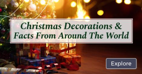 Christmas Infographic - Christmas Facts from Around the World