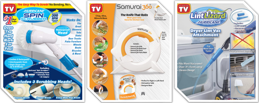 Problem Solved - 8 As Seen On TV Products to Simplify Your Life