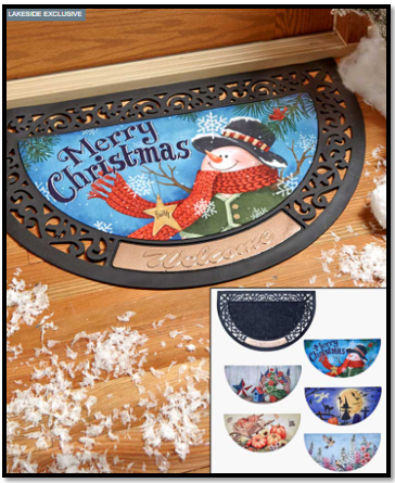 6-Piece Interchangeable Seasonal Doormat