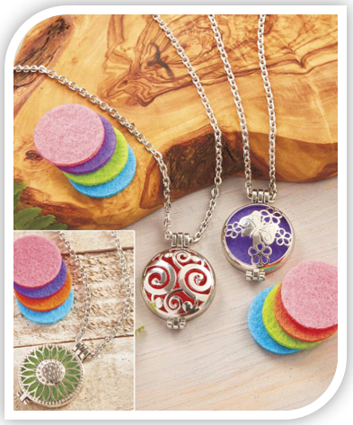 Aromatherapy Diffuser Necklace or Oils