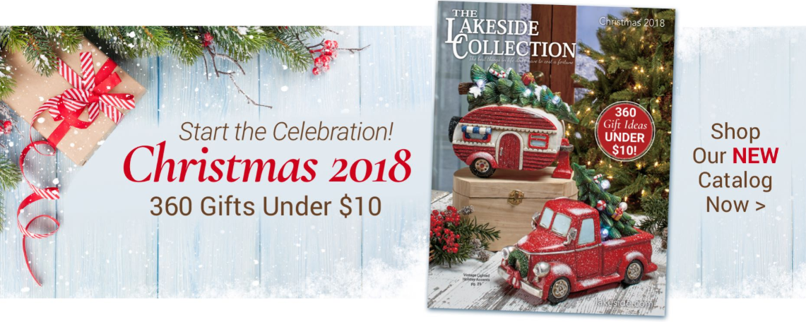 Christmas 2018 - New Lakeside Christmas Catalog
