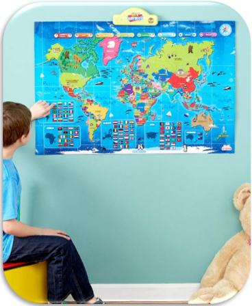 Interactive Talking World Map