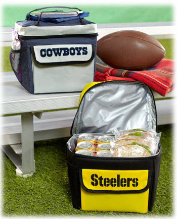 NFL Bungee Coolers
