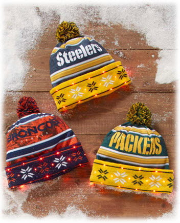 NFL Light Up Hats