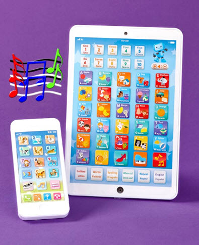 Children's Tablet and Smartphone Set