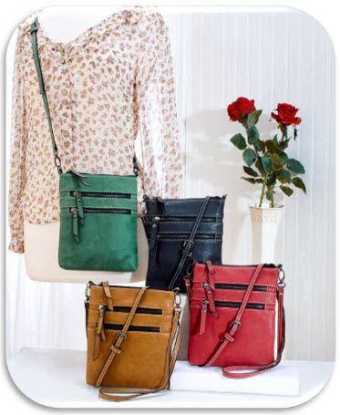 Harlow Soft Feel Crossbody Bags