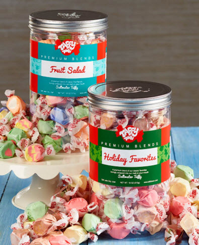 Gourmet Taffy Gift Canister