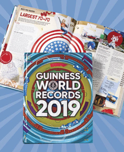 2019 Guinness World Records Book
