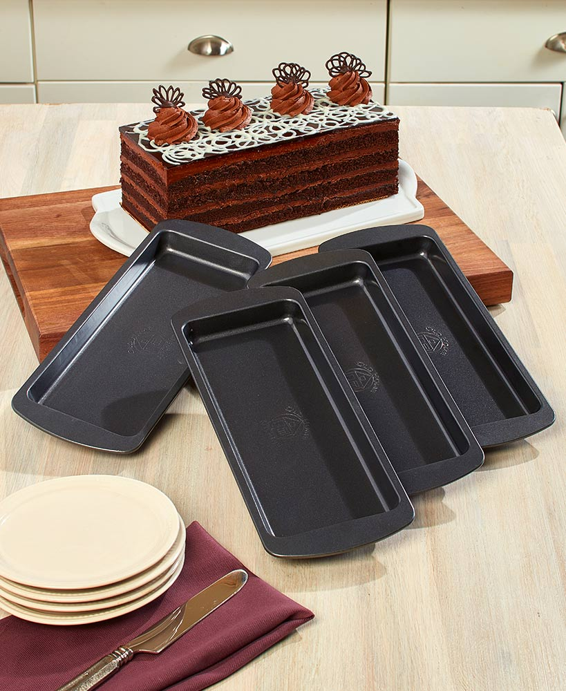 4-Piece Layered Cake Pans